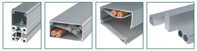 Aluminiumkabelkanaler