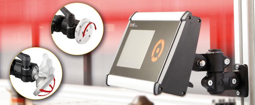 RK-monitorfästet är en flexibel konsol med hög styrka