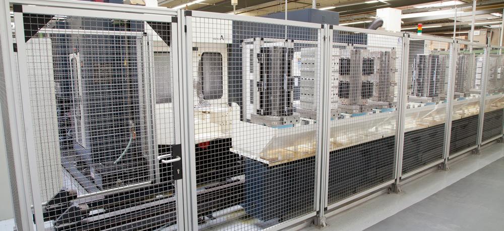 Stabilt säkerhetsskydd med aluminiumdesign från RK Rose+Krieger