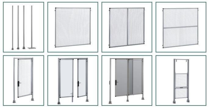 Säkerhetsskyddssystem från RK Rose+Krieger för maskiner/anläggningar/riskområden