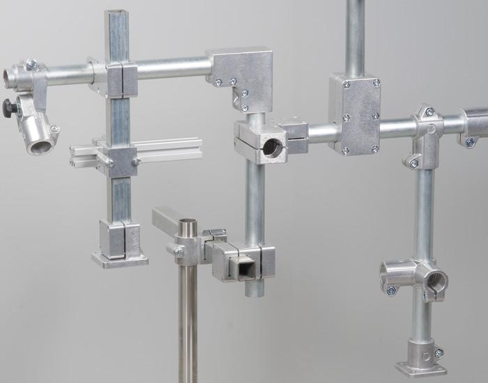 Solida klämmor– rörkopplingar av aluminium